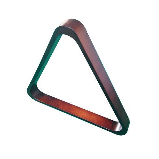 Triangel in Mahagony Snooker