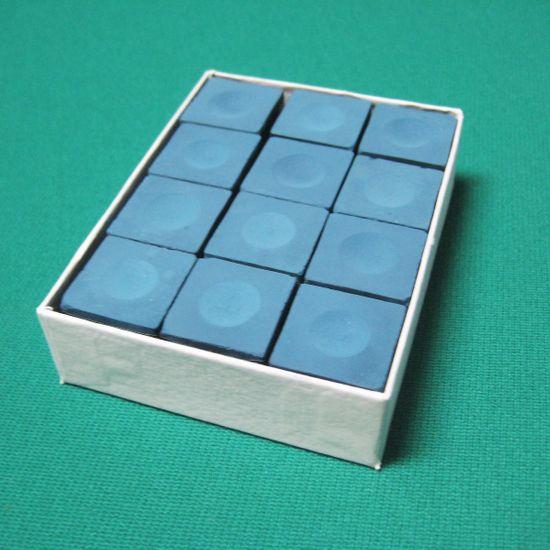 12 x Billardkreide Billiard-Royal Blau – Bild 1