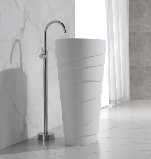 FLOW Freistehende Waschsäulenarmatur – Bild 4