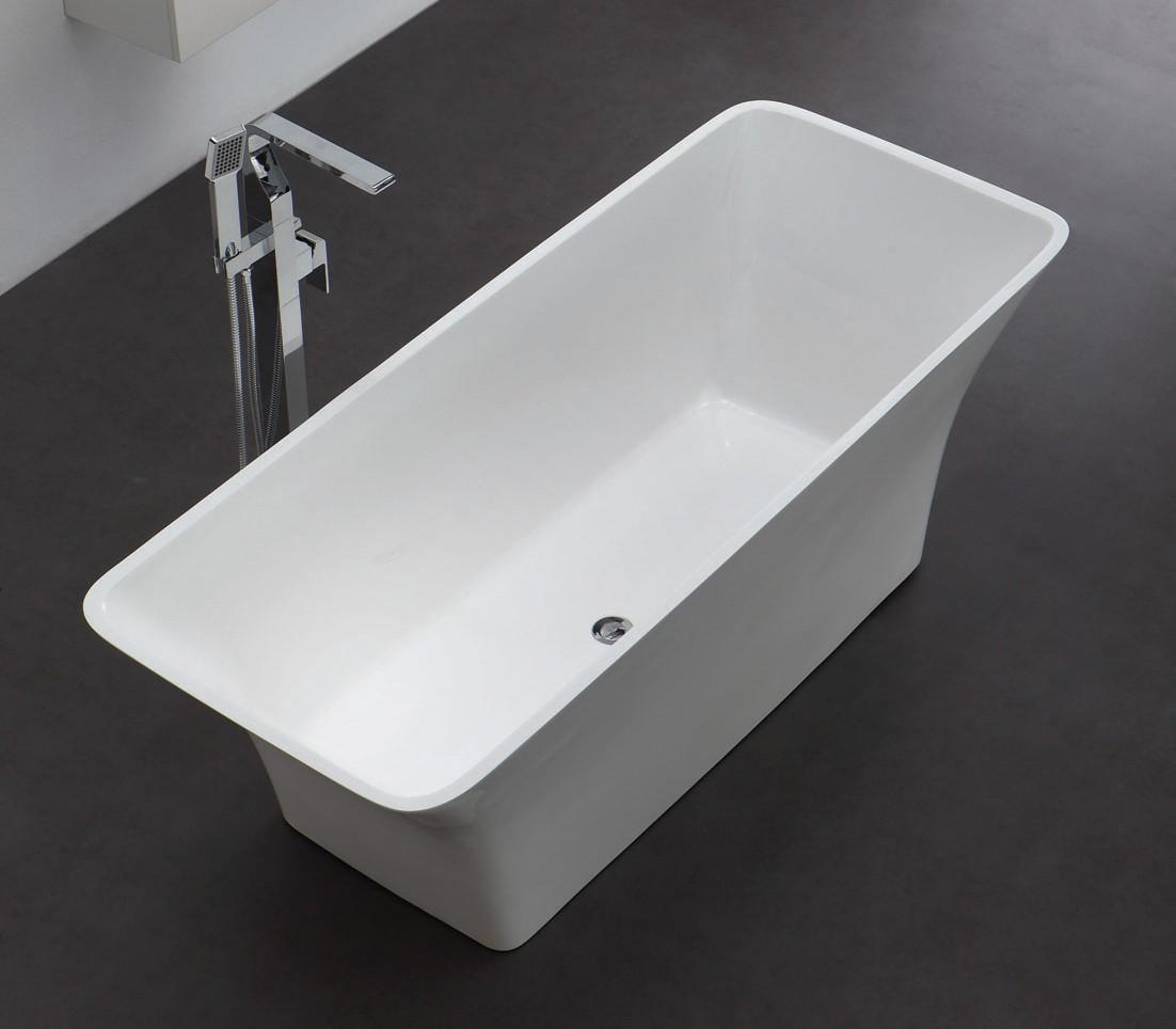 freistehende badewanne aus mineralguss kzoao 0901 badewelt wannen kunststein. Black Bedroom Furniture Sets. Home Design Ideas