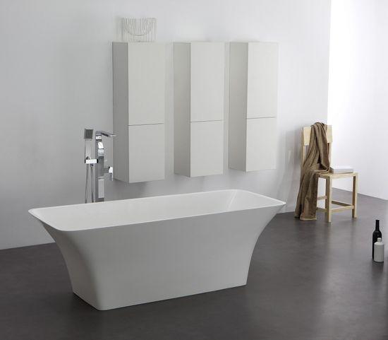 Freistehende Badewanne aus Mineralguss KZOAO-0901 – Bild 1