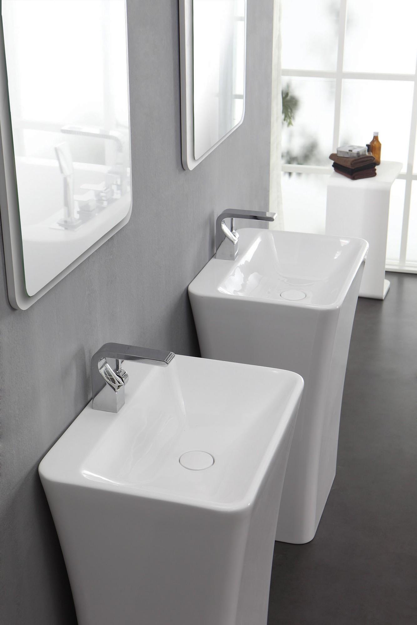 KZOAO-Badeset Waschsäule II + Spiegel