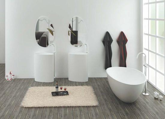 KZOAO-Badeset Waschsäule III + Spiegel