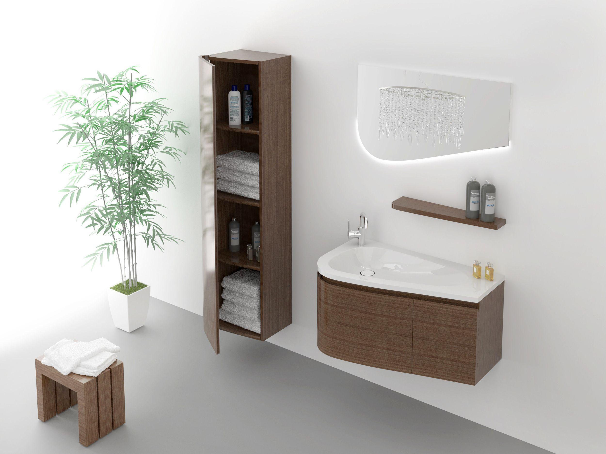 monaco set 90 cm braun badewelt badezimmer m bel serien sets. Black Bedroom Furniture Sets. Home Design Ideas
