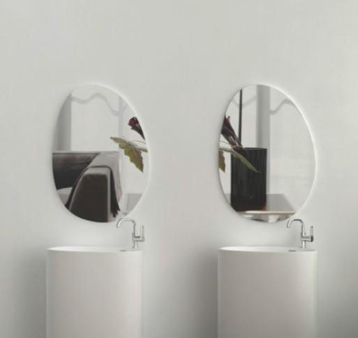 Spiegel 60 cm ungerahmt – Bild 2