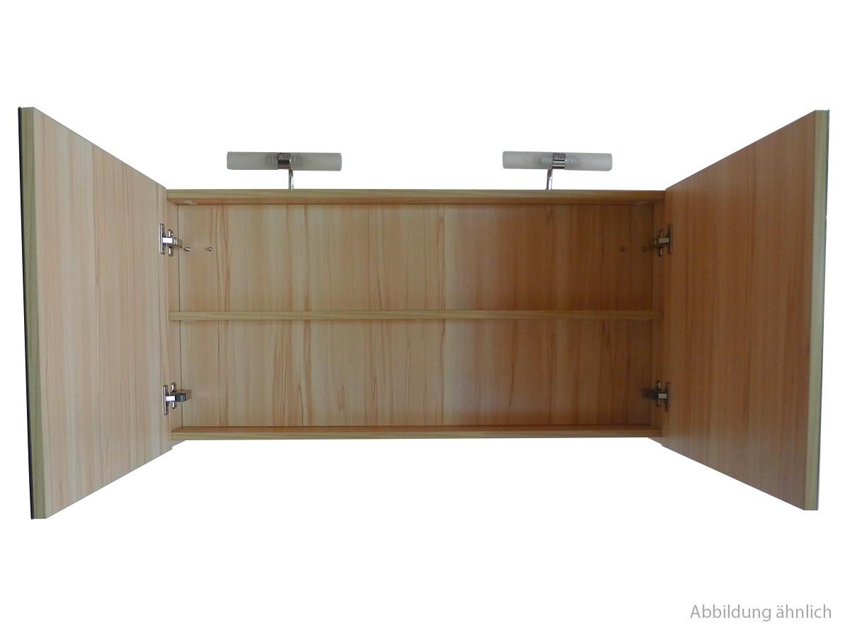 Spiegelschrank 80 cm kernahorn badewelt badezimmer m bel for Spiegelschrank 80 cm hoch