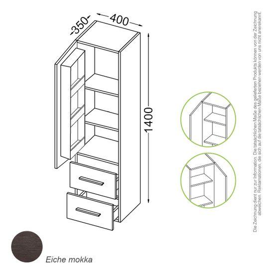 Madrid  Schrank 140 cm – Bild 4