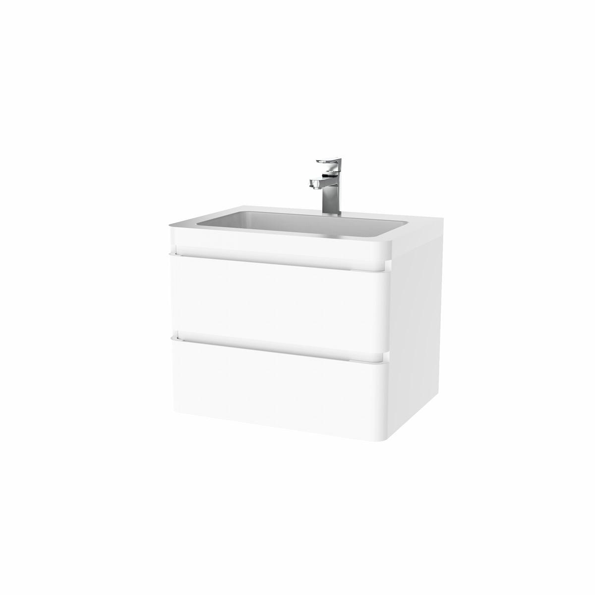 [Paket] Berlin Waschtisch-Set 65 cm weiß