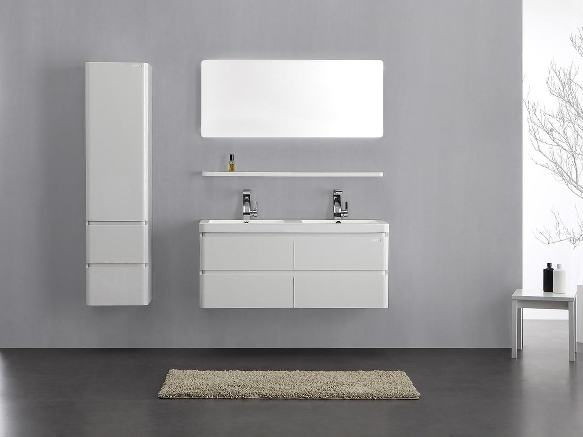 berlin schrank 155 cm wei badewelt badezimmer m bel. Black Bedroom Furniture Sets. Home Design Ideas