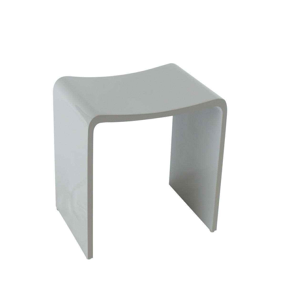 Design Badhocker aus Mineralguss I