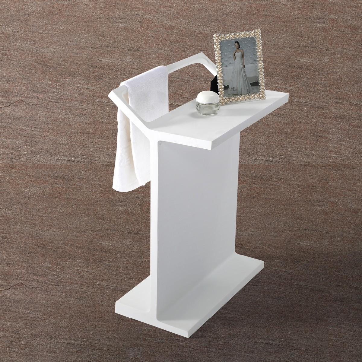 Handtuchhalter handtuchst nder freistehend badablage aus mineralguss badewelt badaccessoires - Handtuchhalter freistehend ...