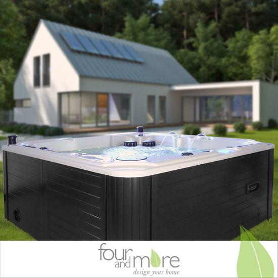 Luxus Pool Outdoor SPA Whirlpool Aussen-Whirlpool Hot Tub für 5 Per ...