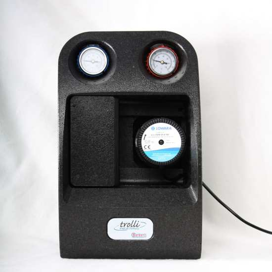 Heizungspumpengruppe mit 3-Wege Thermomischer und Stellmotor – Bild 1