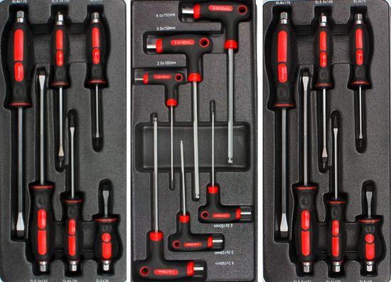 Werkzeugwagen mit 7 Schubladen 5 mit Werkzeug gefüllt – Bild 5